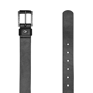 AMERICANA SLIM BELT II - BLACK