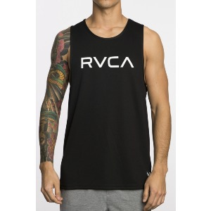 BIG RVCA VA SPORT TANK - BLACK