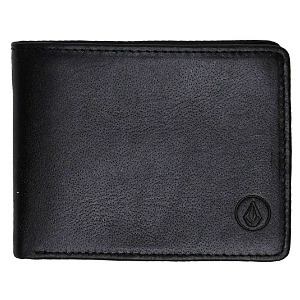 STRANGLER LEATHER WALLET - BLK