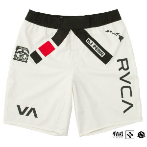 BJ PENN LEGEND SHORT - WHITE