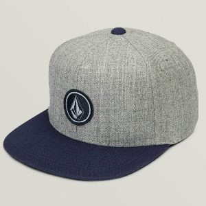 QUARTER SNAPBACK kid's - MEDIUM GREY