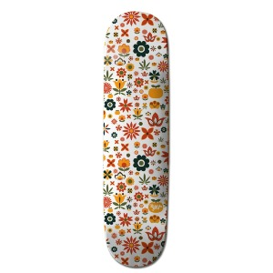 FLOWER POWER - TOREY DECK - White