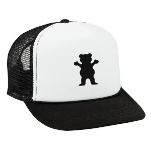 OG Bear Trucker KID'S - BLACK AND WHITE