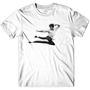 KUNG FLARE TEE - WHITE
