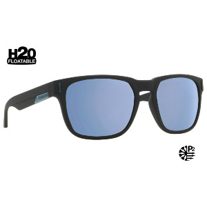 MONARCH - MATTE BLACK H2O/SKY BLUE ION POLARIZED