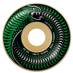 FORMULA FOUR VENOMOUS RADIAL SLIM - GREEN/NATURAL 53MM 101A
