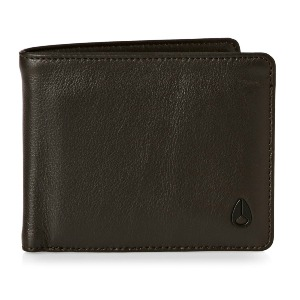 Satellite Big Bill Bi-Fold ID Coin Wallet - BROWN
