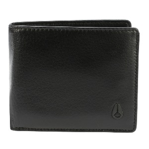 Satellite Big Bill Bi-Fold ID Coin Wallet - All Black