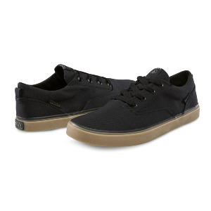 DRAW LO SHOE - BLACK DESTRUCTO