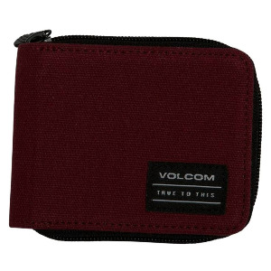 FULL ZIP WALLET - CABERNET