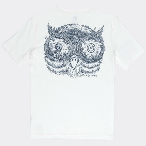 IN THE OWL SS - OFF WHITE