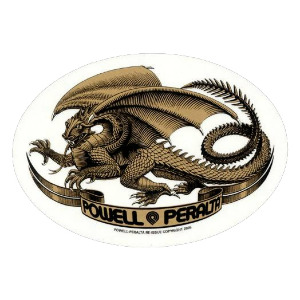 OVAL DRAGON - YELLOW