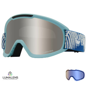 DX2 - WOVEN PALMS/Lumalens SILVER IONIZED + Lumalens FLASH BLUE Lens