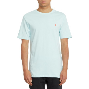 STONE BLANKS BSC SS TEE - RESIN BLUE