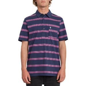SMITHERS POLO - BLUE BLACK
