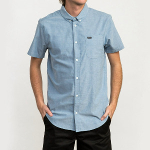 THAT'LL DO STRETCH SS SHIRT - DISTANT BLUE