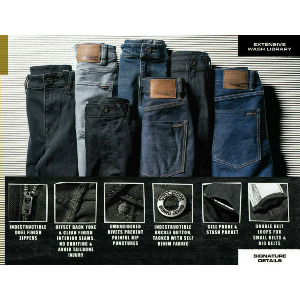 SOLVER DENIM - DARK GREY