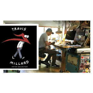 TRAVIS MILLARD STICKER PACK - ASSORTED